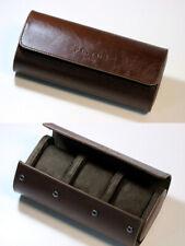 PISTOS Artisan Watch  Case Travel Roll Wristwatch Jewelry Organizer Leather