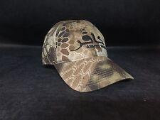 Armed Infidel Black hat Tactical Military American Flag Highlander Camo Baseball