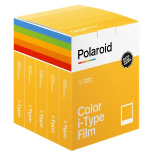 *NEW* Polaroid Color i-Type Instant Film 40 films Pack