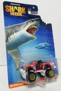 Matchbox Shark Week Discovery Channel TV International Harvester Scout 4X4 SUV