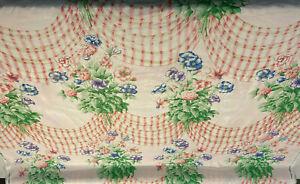 Schumacher Knights Bridge Floral Vitange Chintz Fabric By The Yard