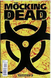 The Mocking Dead #2 2nd print - Dynamite - Fred Van Lente - Max Dunbar