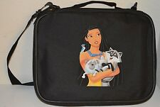 TRADING PIN BOOK FOR DISNEY PINS BAG BLACK Pocahontas MEEKO PERCY LRGE/MED CASE
