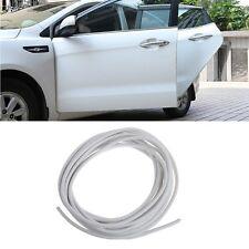 5m Car Anti Collision Side Door Edge Rubber Bumper Protect Sticker Strip White