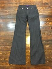 Denim By Victoria Becham Flare Jeans Size 25 Inseam 36, Hemmed to Shorter