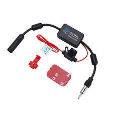 Universal 12V Car Stereo Radio Antenna FM AM Signal Aerial Amp Amplifier Booster