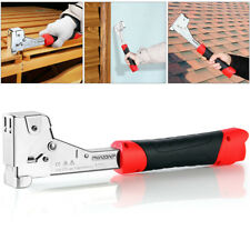 monzana® Hammertacker Schlagtacker Handtacker Einhandtacker Tacker Klammergerät