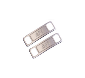 Airforce One 1 AF1 Metal Shoe Lace Clip Plate - Shoe Sneaker Tag Shoelace Buckle