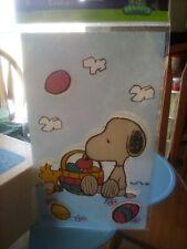 New ListingPeanuts Snoopy Window Gel Clings Easter Spring