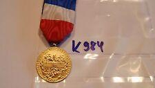 Orden Frankreich Medaille Min. Commerce et Industrie golden (k984)