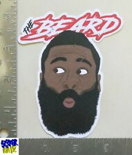 "James Harden UV Proof Vinyl Sticker ~ ""The Beard"""