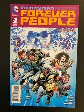 Infinity Man and the Forever People 1 Gem Mint Uncirculated DC Comic QL57-65