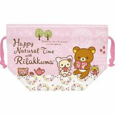 San-X Rilakkuma Bendo Box Lunch Bag - Happy Nature Time Theme (CT52201) 15c