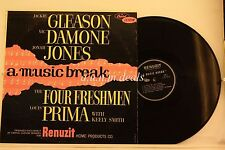 "Renuzit Home Products Jazz Comp A Music Break, LP 12"" (G)"