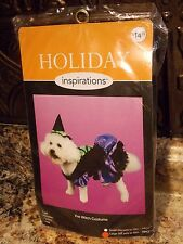 HOLIDAY INSPIRATIONS~Dog Halloween Costume~Girl Pet Witch~Size Large~Dress & Hat