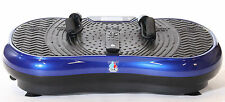 REBOXED 2700W Crazy Fit Vibration Massage Plate with Touch Panel in Blue