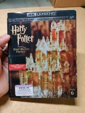 Harry Potter and the Half-Blood Prince New 4K Uhd Blu-ray. With Slipcover