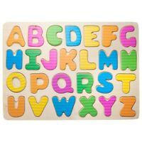 Eliiti Wooden Alphabet ABC Letters Puzzle for Kids 4 to 6 Years Old Boys Girls