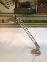 Vintage Mid Century Underwriter Laboratories Extend Swivel Table Lamp Works MCM