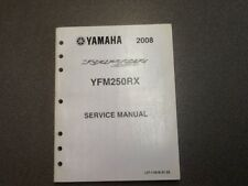 YAMAHA OEM SERVICE MANUAL 2008 YFM250RX RAPTOR LIT-11616-21-22