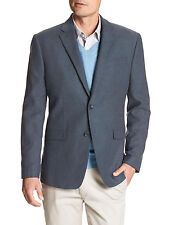 Banana Republic Men's Standard-Fit Indigo Linen Blend Blazer in Blue Indigo 38S