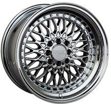 XXR 536 17X9 5x100/114.3mm +25 Platinum Wheels Fits 350z G35 240sx Rx8 Rx7 Tsx