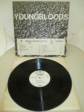 """70' THE YOUNGBLOODS """"LIVE"""" ROCK FESTIVAL 12"""" PROMO LP RACCOON WS 1878 NM"""