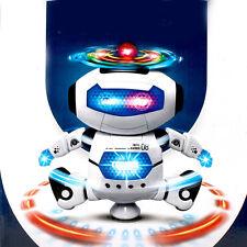 Electronic Walking Dance Smart Space 360° Robot Astronaut Music Kids Light Toy