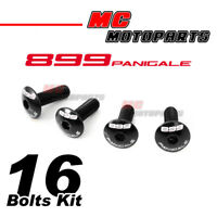 PANIGALE 899 Logo With Black Fairing Bolts For Panigale 899 R/S 13-15