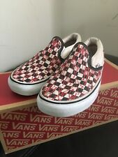 Vans Off The Wall Chequered Trainers  Uk Size 4, US women US 6.5