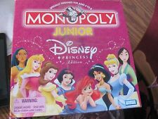 Monopoly Junior Disney Princess game complete great condition