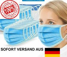 CE - Gesichmaske 3-lagig Maske Mundschutz Schutzmaske Atemmaske Einweg