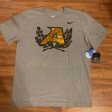 "Nike Regular Fit XL Army Gray and Gold T Shirt ""Go Army"" New with Tags"