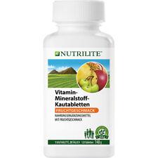 NUTRILITE Vitamin Mineralstoff Kautabletten | 120 Tabletten | Amway | Amava