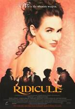RIDICULE Movie POSTER 27x40 Charles Berling Jean Rochefort Fanny Ardant Bernard