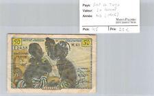 AOF & Togo 50 Francs ND (1956) M.63 n° 156112058 Pick 45