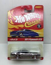 Hot Wheels Classics Series 1 #10 OF 25 1971 PLYMOUTH GTX CHROME