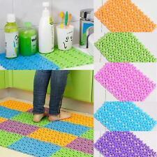 30*20cm Anti Slip Shower Mat PVC Massage Non Slip Tube Mat Bathroom Home 0hau