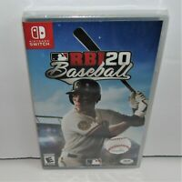 R.B.I. Baseball 20 (Nintendo Switch, 2020) Brand New & Sealed