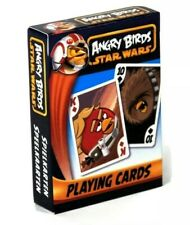 Cartamundi playing cards Angry Birds Star Wars  NEW.