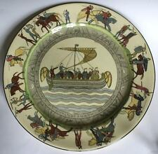 "Royal Doulton Antique Battle Of Hastings Plate Bayeux Tapestry 10.5"", England"