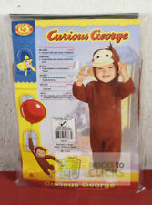 Halloween Costume Dress-Up Curious George Toddler 2-4