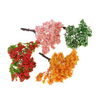 1:12 Fairy Garden Decoration Dollhouse Miniature Trees DIY Craft Resin Plants US