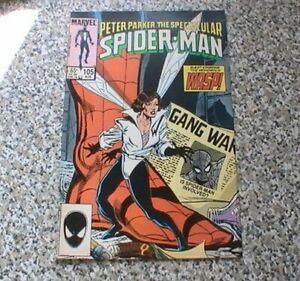 SPECTACULAR SPIDER-MAN  # 105      MARVEL COMICS