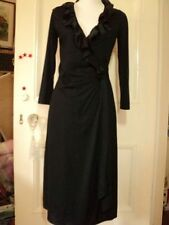 Jersey Knee Length Wrap Dresses