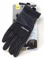 HEAD Men's Hybrid Sensatec Touchscreen Warm Fleece Lined Gloves S Graphite Gray
