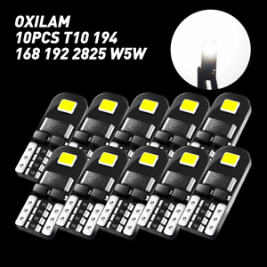 T10 LED Interior Light Bulb License Plate Dashboard Dome Door 168 2825 W5W 194