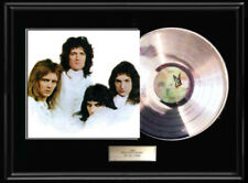 Queen Two Ii White Gold Silver Platinum Tone Record Lp Rare Display Non Riaa