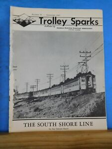 Trolley Sparks #76 December 1947 The South Shore Line