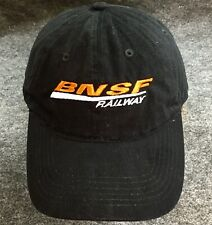 BNSF Railroad Ball Cap Crude Oil By Rail Burlington Northern San Francisco RR